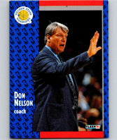 1991-92 Fleer #70 Don Nelson Warriors CO NBA Basketball