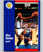 1991-92 Fleer #71 Mitch Richmond Warriors NBA Basketball