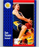 1991-92 Fleer #72 Tom Tolbert Warriors NBA Basketball