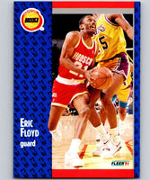 1991-92 Fleer #74 Sleepy Floyd Rockets NBA Basketball