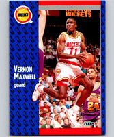 1991-92 Fleer #76 Vernon Maxwell Rockets NBA Basketball