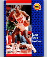 1991-92 Fleer #79 Larry Smith Rockets NBA Basketball