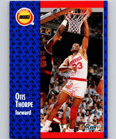 1991-92 Fleer #80 Otis Thorpe Rockets NBA Basketball