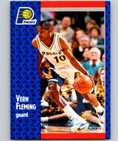 1991-92 Fleer #81 Vern Fleming Pacers NBA Basketball