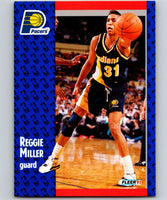 1991-92 Fleer #83 Reggie Miller Pacers NBA Basketball