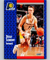 1991-92 Fleer #85 Detlef Schrempf Pacers NBA Basketball
