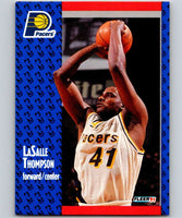 1991-92 Fleer #87 LaSalle Thompson Pacers NBA Basketball