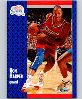 1991-92 Fleer #90 Ron Harper Clippers NBA Basketball