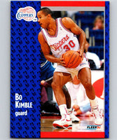 1991-92 Fleer #91 Bo Kimble Clippers NBA Basketball