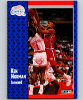 1991-92 Fleer #93 Ken Norman Clippers NBA Basketball