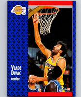 1991-92 Fleer #97 Vlade Divac Lakers NBA Basketball