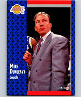 1991-92 Fleer #98 Mike Dunleavy Sr. Lakers CO NBA Basketball