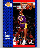 1991-92 Fleer #99 A.C. Green Lakers NBA Basketball