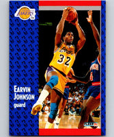 1991-92 Fleer #100 Magic Johnson Lakers NBA Basketball