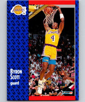 1991-92 Fleer #102 Byron Scott Lakers NBA Basketball