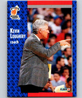 1991-92 Fleer #110 Kevin Loughery Heat CO NBA Basketball