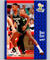 1991-92 Fleer #114 Dale Ellis Bucks NBA Basketball