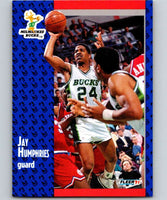 1991-92 Fleer #116 Jay Humphries Bucks NBA Basketball