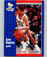 1991-92 Fleer #118 Alvin Robertson Bucks NBA Basketball