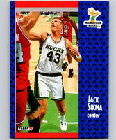 1991-92 Fleer #120 Jack Sikma Bucks NBA Basketball