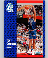 1991-92 Fleer #121 Tony Campbell Timberwolves NBA Basketball