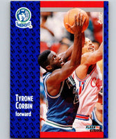 1991-92 Fleer #122 Tyrone Corbin Timberwolves NBA Basketball