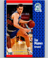 1991-92 Fleer #124 Tod Murphy Timberwolves NBA Basketball