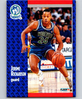 1991-92 Fleer #125 Pooh Richardson Timberwolves NBA Basketball