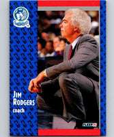 1991-92 Fleer #126 Jimmy Rodgers Timberwolves CO NBA Basketball