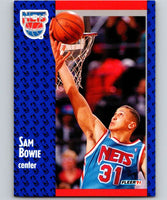 1991-92 Fleer #129 Sam Bowie NJ Nets NBA Basketball