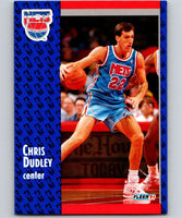 1991-92 Fleer #131 Chris Dudley NJ Nets NBA Basketball