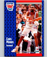 1991-92 Fleer #133 Chris Morris NJ Nets NBA Basketball