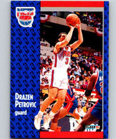 1991-92 Fleer #134 Drazen Petrovic NJ Nets NBA Basketball