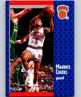 1991-92 Fleer #135 Maurice Cheeks Knicks NBA Basketball