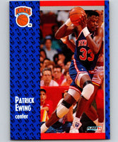 1991-92 Fleer #136 Patrick Ewing Knicks NBA Basketball