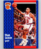 1991-92 Fleer #137 Mark Jackson Knicks NBA Basketball