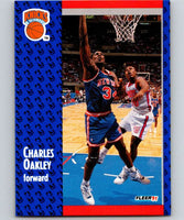 1991-92 Fleer #138 Charles Oakley Knicks NBA Basketball