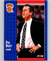 1991-92 Fleer #139 Pat Riley Knicks CO NBA Basketball