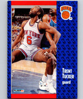 1991-92 Fleer #140 Trent Tucker Knicks NBA Basketball