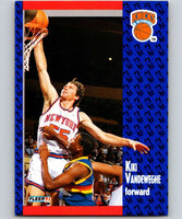1991-92 Fleer #141 Kiki Vandeweghe Knicks NBA Basketball