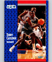 1991-92 Fleer #144 Terry Catledge Magic NBA Basketball