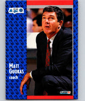 1991-92 Fleer #145 Matt Guokas Magic CO NBA Basketball