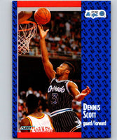 1991-92 Fleer #147 Dennis Scott Magic NBA Basketball