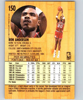 1991-92 Fleer #150 Ron Anderson 76ers NBA Basketball