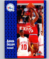 1991-92 Fleer #153 Armon Gilliam 76ers NBA Basketball