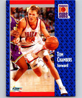 1991-92 Fleer #158 Tom Chambers Suns NBA Basketball