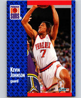 1991-92 Fleer #161 Kevin Johnson Suns NBA Basketball
