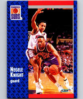 1991-92 Fleer #162 Negele Knight Suns NBA Basketball