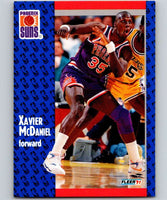 1991-92 Fleer #164 Xavier McDaniel Suns NBA Basketball