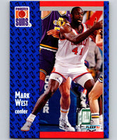 1991-92 Fleer #165 Mark West Suns NBA Basketball